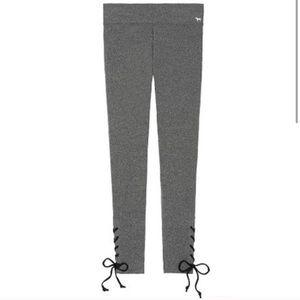 VS PINK Cotton Lace Up Legging
